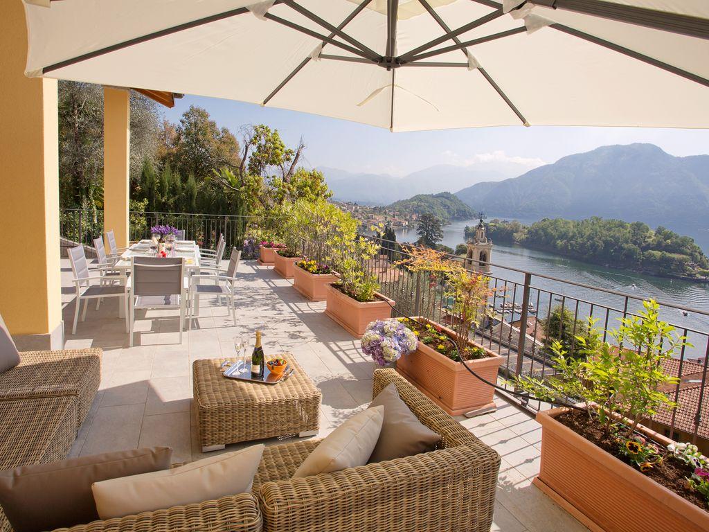 Luxurious panoramic lake view family property overlooking Comacina island – Apartament 1